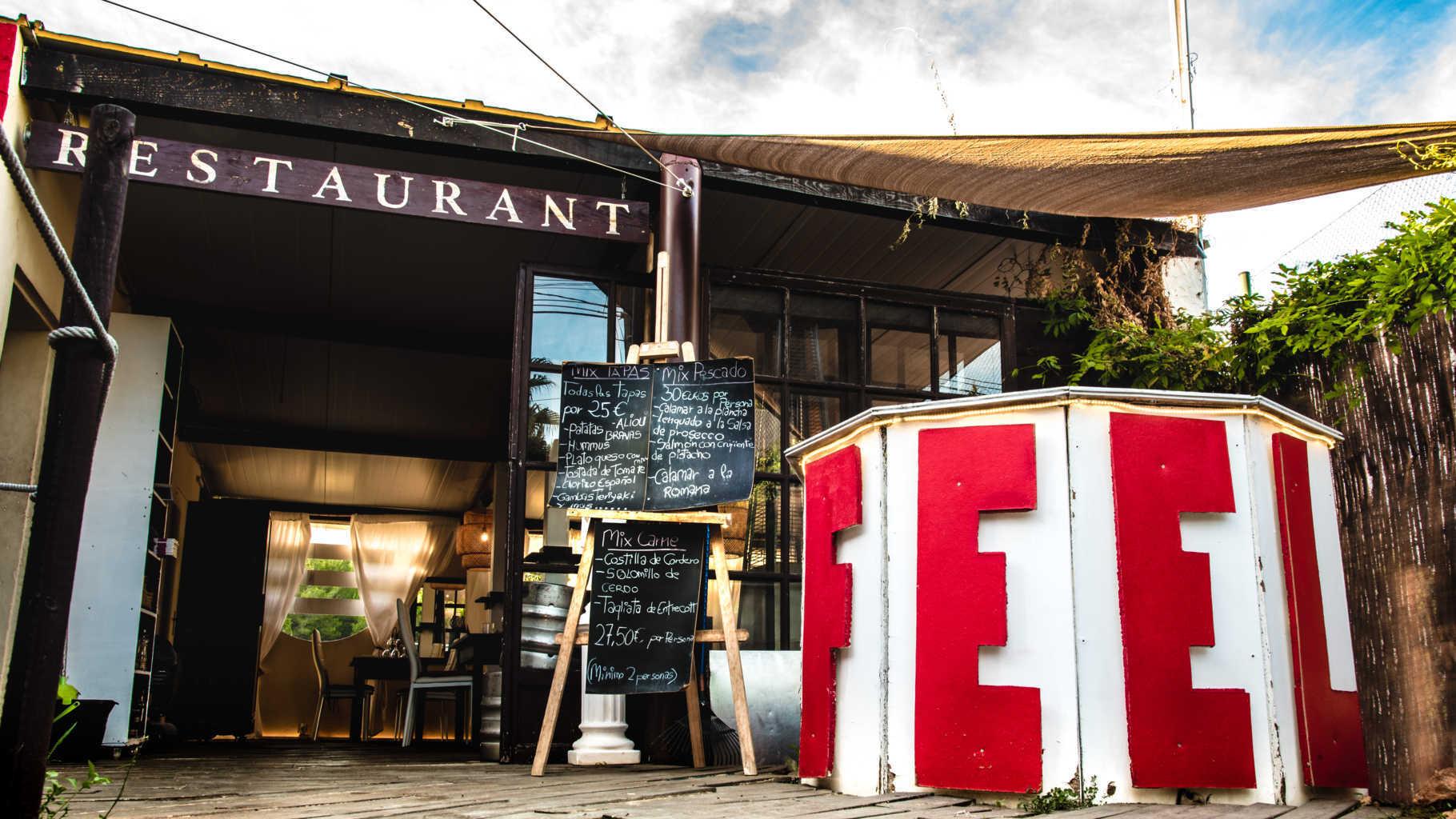 feel restaurant ibiza contactos