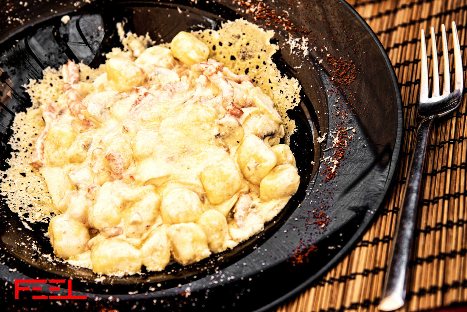 feel restaurant ibiza gnocchi con gorgonzola