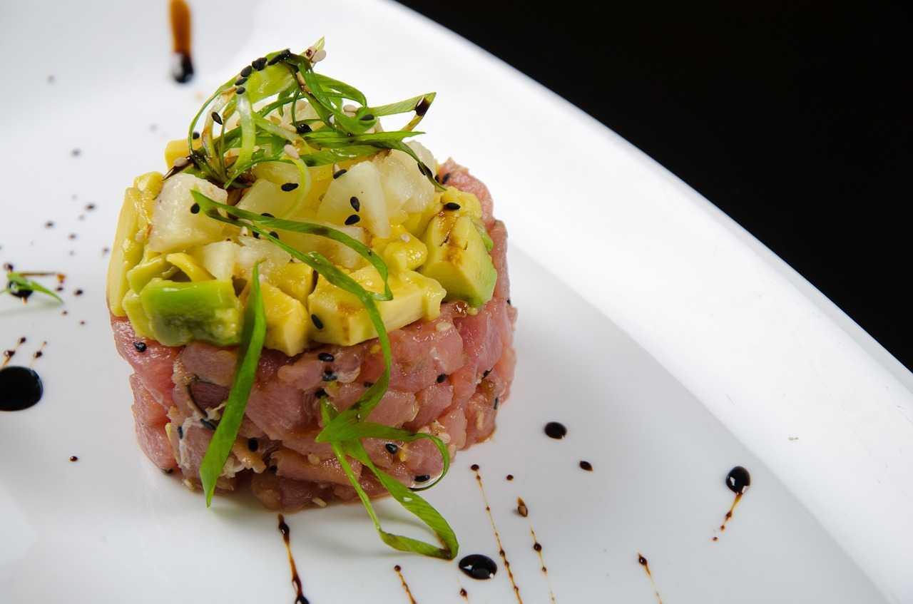 feel restaurant ibiza menu salmone